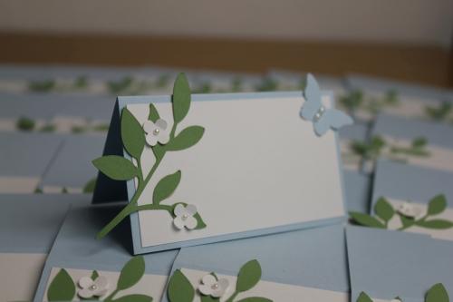 Taufkarten Nino, Bild6, gebastelt mit Produkten, Stanzen und Stempeln von Stampin\' Up!
