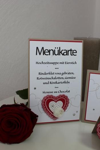 Hochzeitsset2, benutzt wurde das Stempelset Hearts a Flutter und die Heats a Flutter Framelits, Bild4, gebastelt mit Produkten, Stanzen und Stempeln von Stampin\' Up!