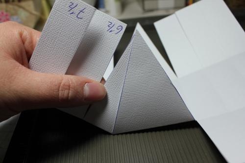 Anleitung Osterkörbchen, Bild5, gebastelt mit Produkten, Stanzen und Stempeln von Stampin\' Up!