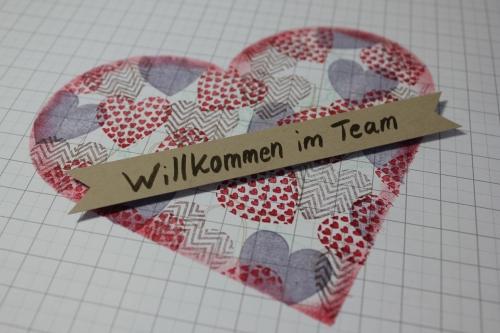 Herzlich Willkommen im Team