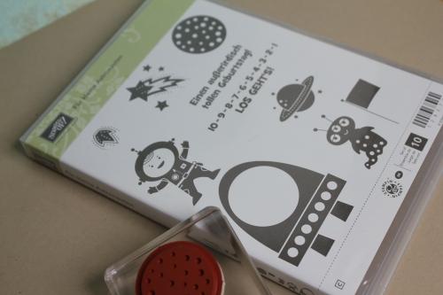 Grußkarte mit dem neuen Washitape und dem Stempelset