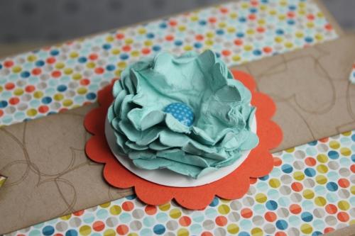 Box/Verpackung für Babyschuhe, Bild4, gebastelt mit Produkten, Stanzen und Stempeln von Stampin\' Up!