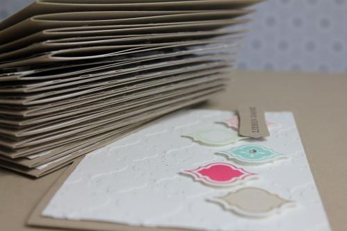 Grußkarte Mosaic Madness, Bild2, gebastelt mit Produkten, Stanzen und Stempeln von Stampin\' Up!