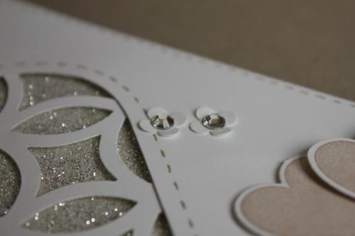 Karte zur Silberhochzeit, Bild3, gebastelt mit Produkten, Stanzen und Stempeln von Stampin\' Up!