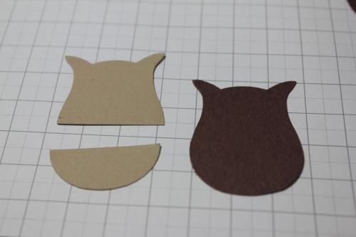 Punch Art Pferd/Horse, Bild6, gebastelt mit Produkten, Stanzen und Stempeln von Stampin\' Up!