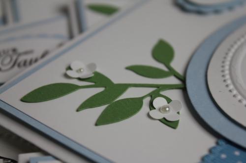 Taufkarten Nino, Bild4, gebastelt mit Produkten, Stanzen und Stempeln von Stampin\' Up!