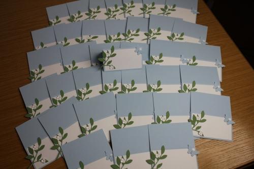Taufkarten Nino, Bild5, gebastelt mit Produkten, Stanzen und Stempeln von Stampin\' Up!