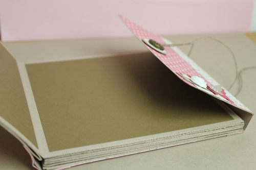 Minialbum/Fotoalbum, Bild5, gebastelt mit Produkten, Stanzen und Stempeln von Stampin\' Up!