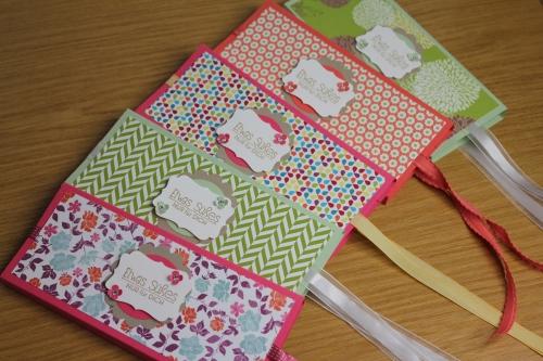 Schokoladenverpackungen Teil 2, Bild1, gebastelt mit Produkten, Stanzen und Stempeln von Stampin\' Up!