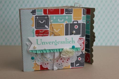 Minialbum/Fotoalbum Reise, Bild2, gebastelt mit Produkten von Stampin\' Up!