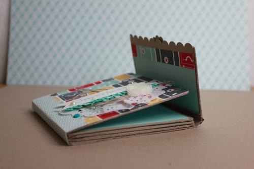 Minialbum/Fotoalbum Reise, Bild4, gebastelt mit Produkten von Stampin\' Up!