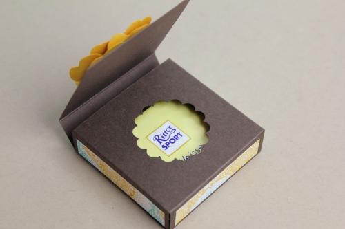 Ritter Sport Verpackung, BIld6, gebastelt mit Produkten von Stampin\' Up!