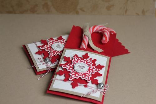 Zuckerstangenverpackung, Bild1, gebastelt mit Produkten von Stampin\' Up!