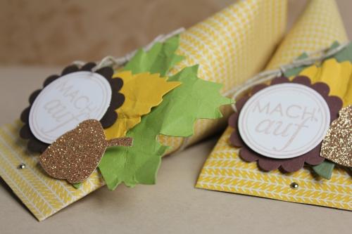 Herbstliche Geschenkverpackung, Bild3, gebastelt mit Produkten von Stampin\' Up!
