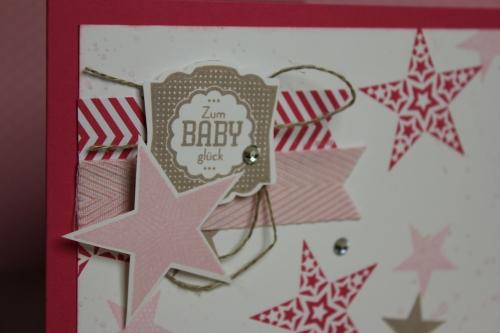 Babykarte Simply Star, Bild 2, gebastelt mit Produkten von Stampin\' Up!