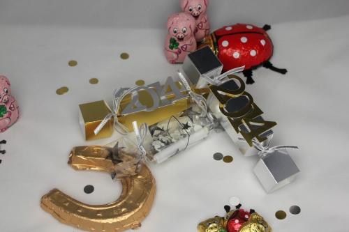 Silvester-Deko, Bild2, gebastelt mit Produkten von Stampin\' Up!