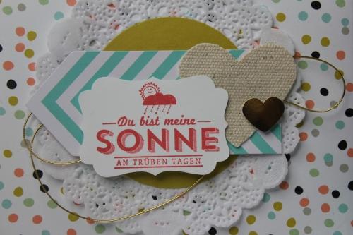 Briefumschlag dekoriert SAB, Bild2, bastelt mit Produkten von Stampin\' Up!