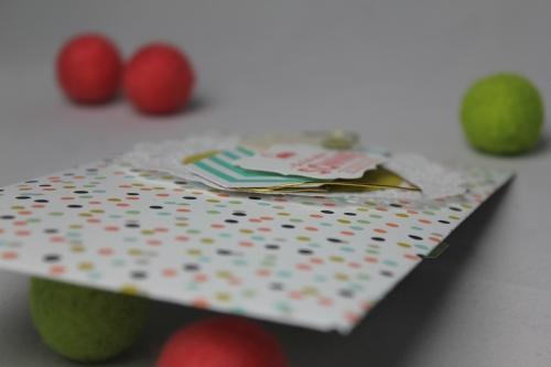 Briefumschlag dekoriert SAB, Bild3, bastelt mit Produkten von Stampin\' Up!