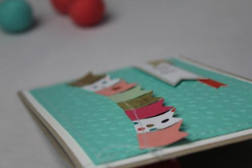 Grußkarte SAB 2014 Fähnchen, Bild3, gebastelt mit Produkten von Stampin\' Up!