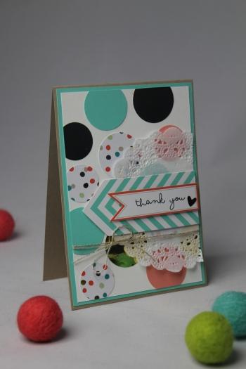 Grußkarte Goldstück, Bild1, gebastelt mit Produkten von Stampin\' Up!