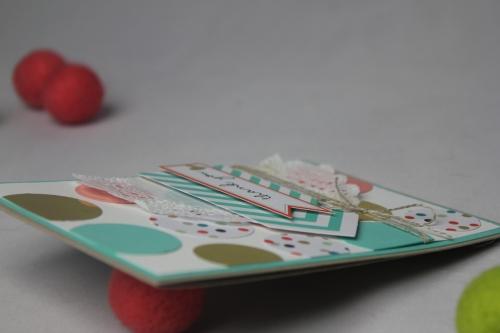 Grußkarte Goldstück, Bild3, gebastelt mit Produkten von Stampin\' Up!