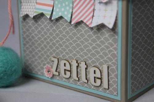 Zettelbox/Sale-A-Bration, Bild 3, gebastelt mit Produkten von Stampin\' Up