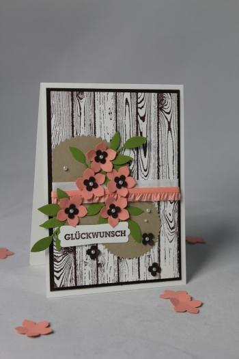 Geburtstagskarte Petite Petals, Bild 1, gebastelt mit Produkten von Stampin\' Up!