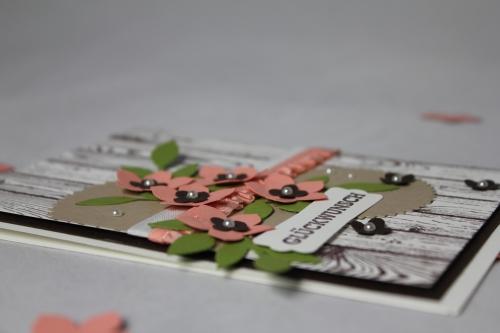 Geburtstagskarte Petite Petals, Bild 3, gebastelt mit Produkten von Stampin\' Up!