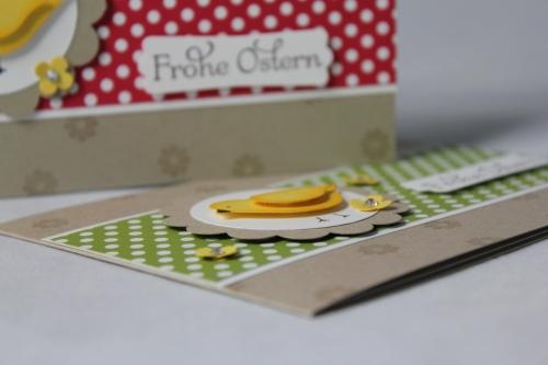 Osterkarte mit Vogelstanze, Bild3, gebastelt mit Stampin\' Up! Produkten.
