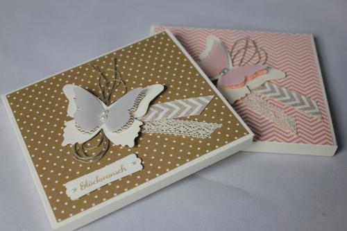CD-Verpackung, Bild1, gebastelt mit Stampin\' Up! Produkten.