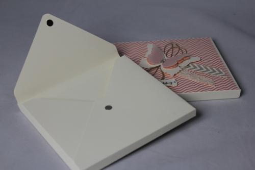 CD-Verpackung, Bild2, gebastelt mit Stampin\' Up! Produkten.