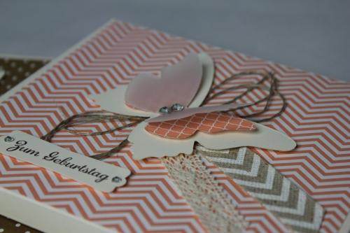 CD-Verpackung, Bild3, gebastelt mit Stampin\' Up! Produkten.