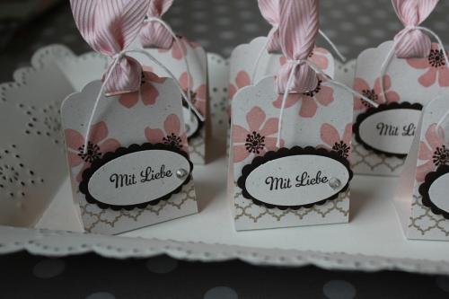 Küsschen-Verpackung mit Liebe, Bild2, gebastelt mit Produkten von Stampin\' Up!.