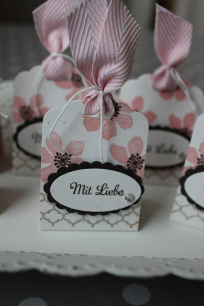 Küsschen-Verpackung mit Liebe, Bild3, gebastelt mit Produkten von Stampin\' Up!.