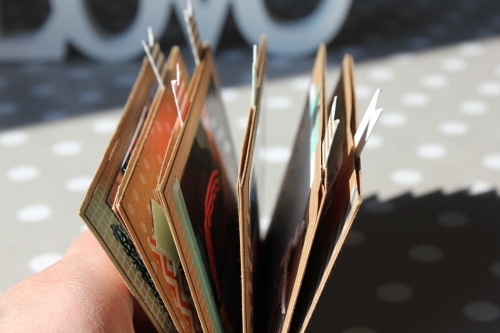Minialbum mit Briefumschlägen, Bild1, gebastelt mit Produkten von Stampin\' Up!.
