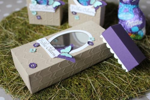 Osterhasenverpackung, Bild2, gebastelt mit Produkten von Stampin\' Up!.