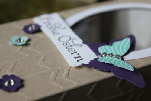 Osterhasenverpackung, Bild4, gebastelt mit Produkten von Stampin\' Up!.