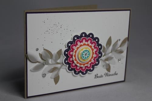 Grußkarte Five-Way Flower, Bild1, Gebastelt mit Produkten von Stampin\' Up!