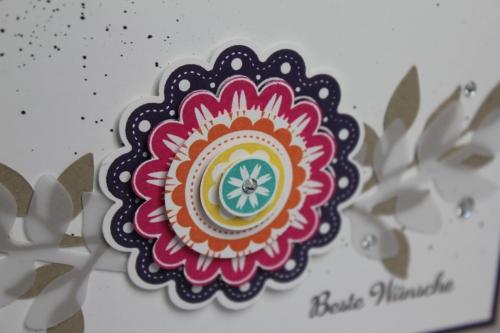 Grußkarte Five-Way Flower, Bild3, Gebastelt mit Produkten von Stampin\' Up!