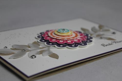 Grußkarte Five-Way Flower, Bild2, Gebastelt mit Produkten von Stampin\' Up!