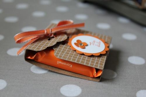 Ritter Sport Verpackung/ Hip hip Hurra, Bild3, gebastelt mit Produkten von Stampin\' Up!