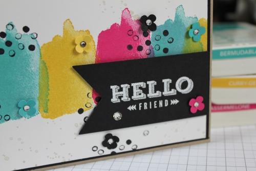 Hello Friend, Bild3, gebastelt mit Produkten von Stampin\' Up!