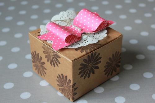 Geschenkschleife mit Envelope Punch Board, Bild1, gebastelt mit Produkten von Stampin\' Up!