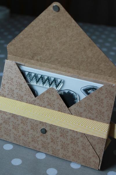 Verpackung für Klarsichtstempel, Bild2, gebastelt mit Produkten von Stampin\' Up!