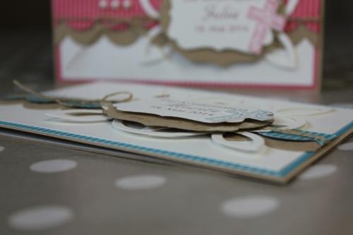 Konfirmationskarte mit Wellenbordüre, Bild 3, gebastelt mit Produkten von Stampin\' Up!
