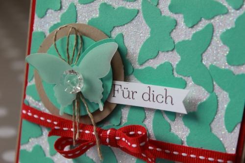 Schmetterlingskarte, Bild2, gebastelt mit Produkten von Stampin\' Up!