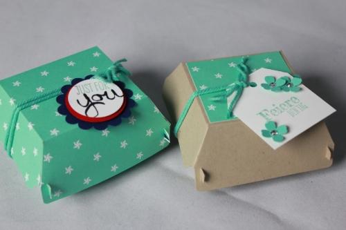 Hamburger-Schachtel, Bild1, gebastelt mit Produkten von Stampin\' Up!