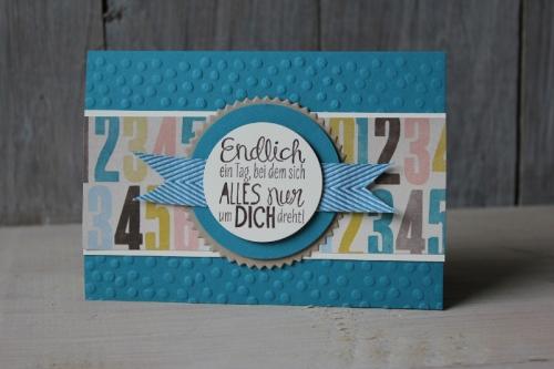 Karte verliebt in Soho, Bild2, gebastelt mit Produkten von Stampin\' Up!.
