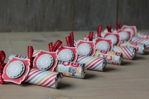 Bonbonrolle Meine Welt, Bild3, gebastelt mit Produkten von Stampin\' Up!.