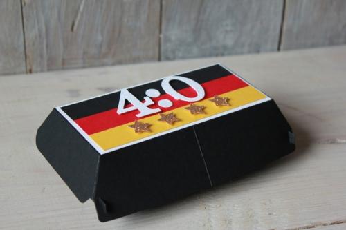Fussballbox, Bild1, gebastelt mit Produkten von Stampin\' Up!